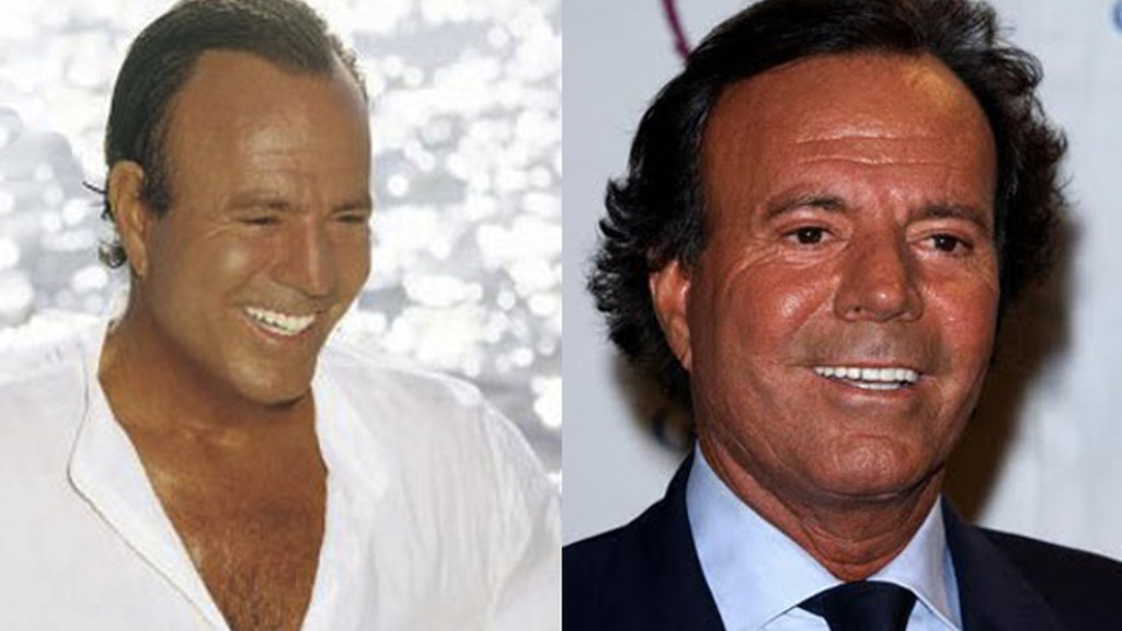 Julio Iglesias hair