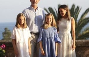 Princess Leonor's blue Zara dress runs out in hours.
