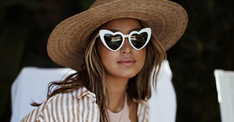 Mango sells the 'low-cost' clone of Saint Laurent's heart glasses