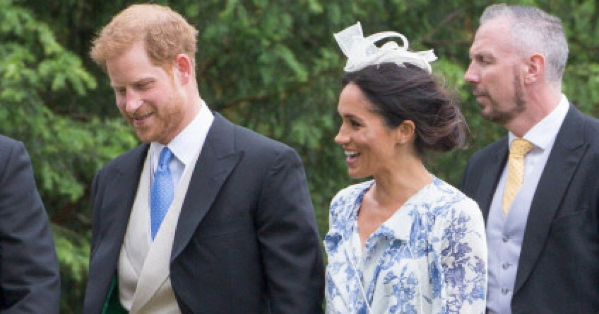 H&M sells the 'low-cost' clone of Meghan Markle's wedding guest dress