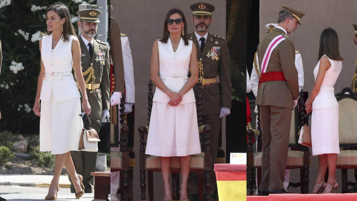 Queen Letizia's chosen style to reconcile with Felipe Varela