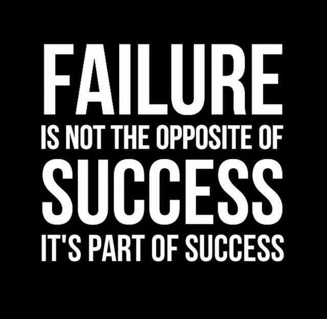 dealing with failure
