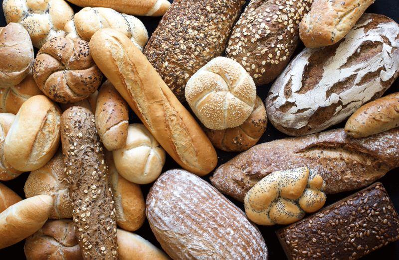 Foods with gluten