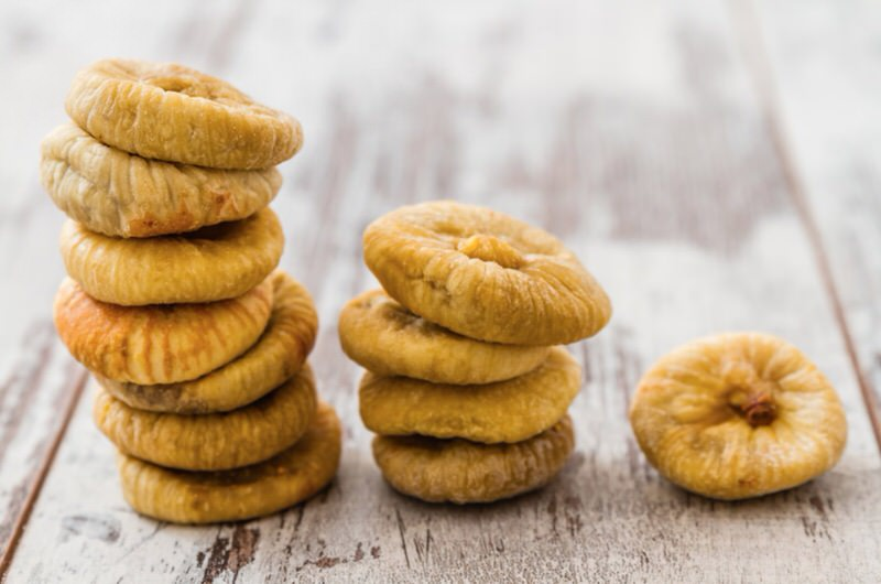 Nutritional properties of dried figs