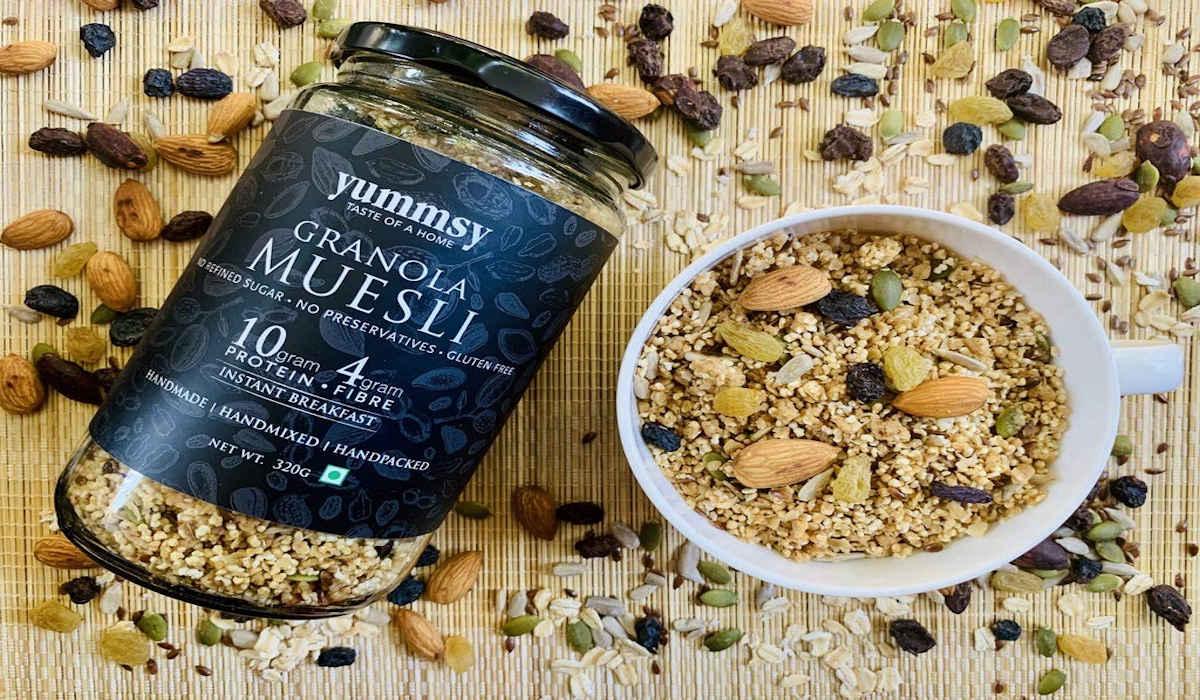 Main differences between muesli and granola