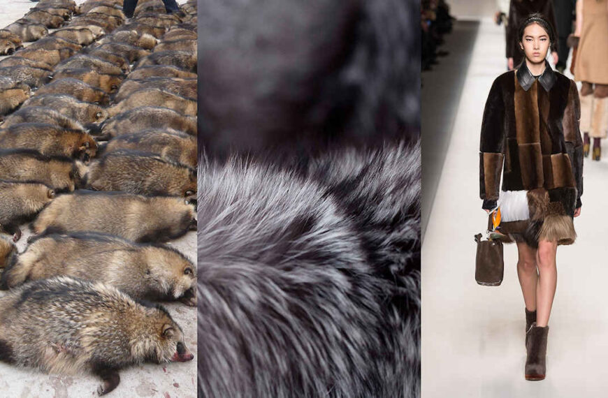What are the luxury marks that left behind furs and what is cruelty free